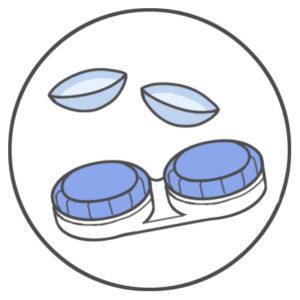 眼鏡、コンタクトレンズレンズの過矯正も眼精疲労の元です。